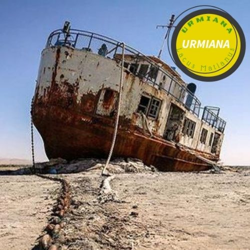 Dryness of Lake Urmia