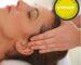 Head massage with sea salt